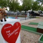Mini golf and swimming, fun for all! (Loveland RV Resort ~ Loveland Colorado)