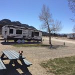 Great views and lots of room at Mt Princeton RV Park & Cabins (Buena Vista CO)