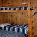 Three cozy, comfortable one-room cabins (sleep 2-4) at Mt Princeton RV Park & Cabins in Buena Vista CO