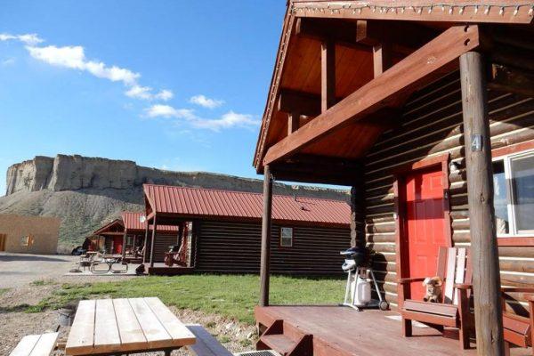 A great lodging option: Muddy Creek Cabins (Kremmling CO)