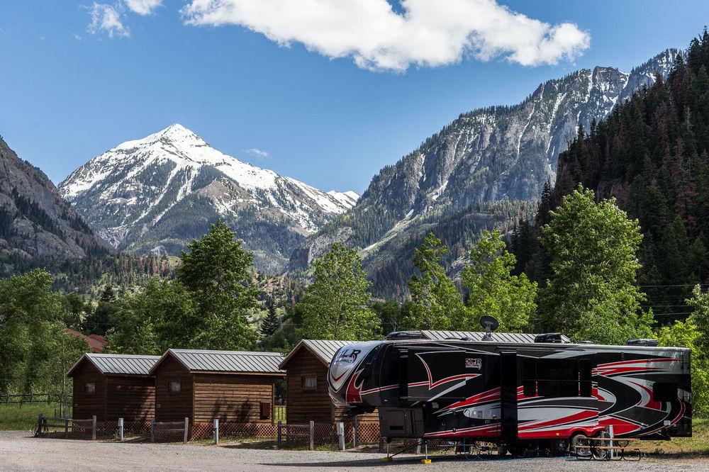Ouray Rv Park And Cabins Camp Colorado