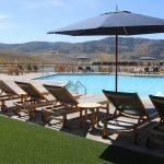 Swimming pool at River Run RV Resort in Granby CO