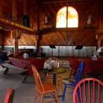 Great lodge! River Forks Campground in Drake Colorado