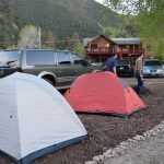 River Forks offers RV and tent sites ~ River Forks Campground in Drake Colorado