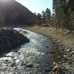 Riverfront campground on the banks of the Big Thompson River ~ River Forks Campground in Drake Colorado