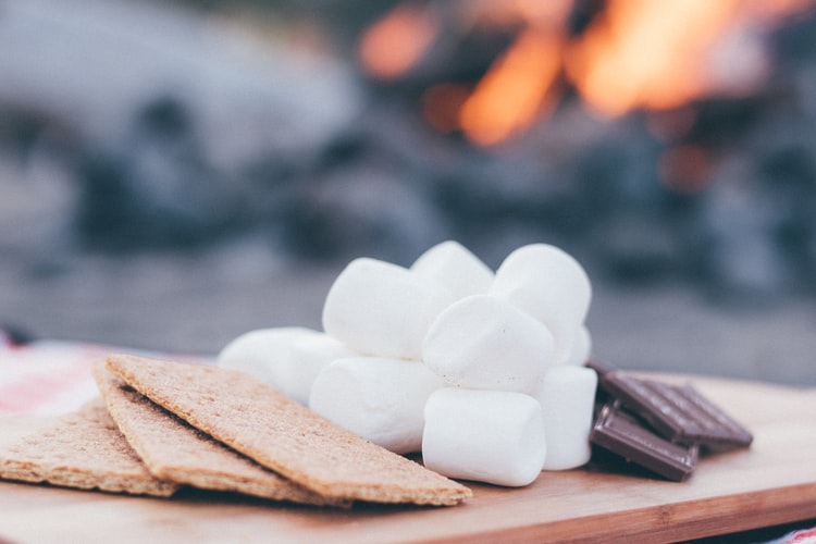 S'mores … Best When Camping in Colorado