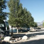 Mountain Views at Snowy Peaks Campground in Buena Vista CO