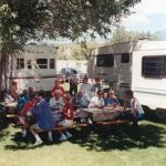 Camping fun at Snowy Peaks Campground in Buena Vista CO