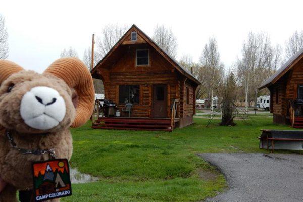 Rent a kabin at Steamboat Springs KOA