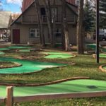 Mini golf -- fun for everyone at Steamboat Springs KOA