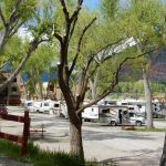 Shady spots for your RV at United Campground in Durango