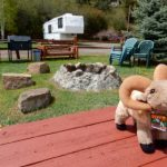 Great RV spots and picnic areas at Ute Bluff Lodge, Cabins and RV Park in South Fork, CO