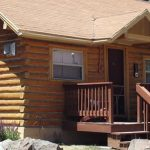 Accommodations include rustic cabins, motel rooms, and RV sites. (Ute Bluff Lodge, Cabins & RV Park, South Fork CO)