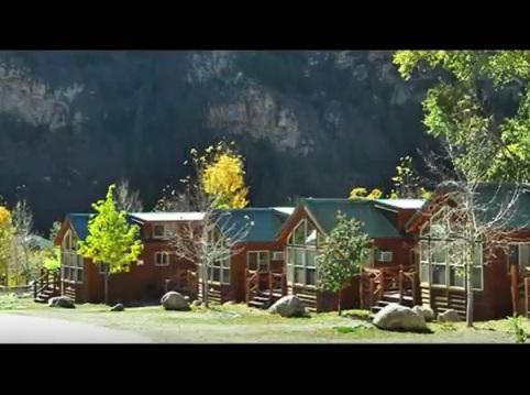 Glenwood Canyon Resort in Glenwood Springs CO