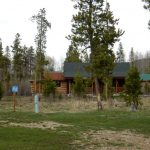 RV Spots and cabins to rent at Winding River Resort Village in Grand Lake