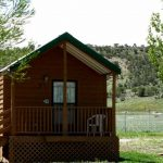 No tent or RV? Rent a cabin at Yogi Bear's Jellystone Park of Black Canyon in Montrose