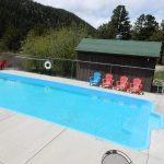 Cool off in the pool at Yogi Bear's Jellystone Park of Estes (Estes Park Colorado)