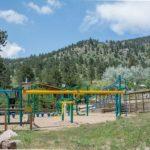 Fun playset at Yogi Bear's Jellystone Park of Estes (Estes Park Colorado)