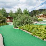 Mini golf fun at Yogi Bear's Jellystone Park of Estes (Estes Park Colorado)